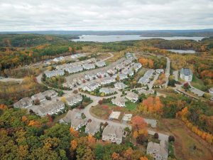 aerial photography from a drone in MA