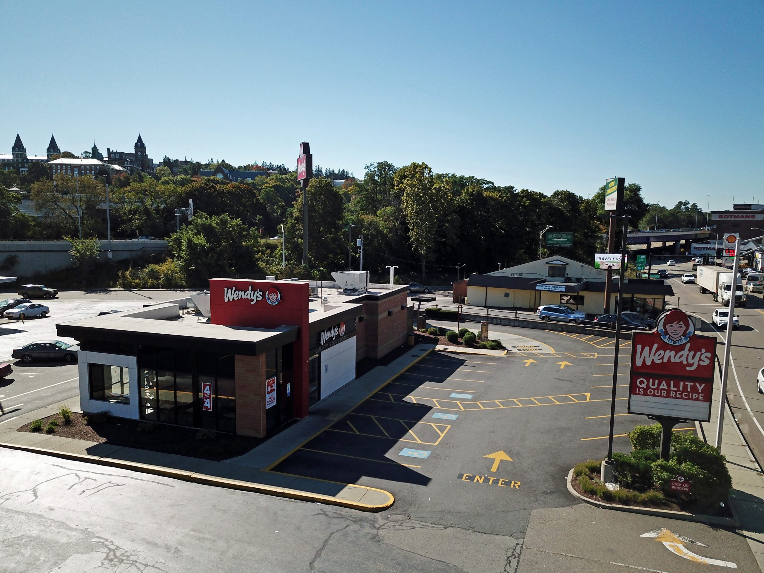 worcester ma wendy's location